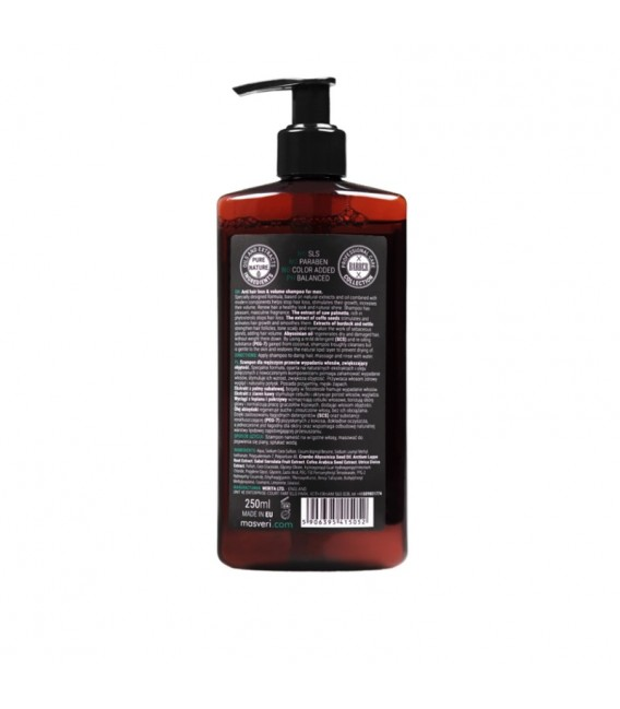 MASVERI - Shampoo anti hair losse & volume up MEN 250ml
